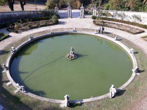 fontanone Villa della Regina