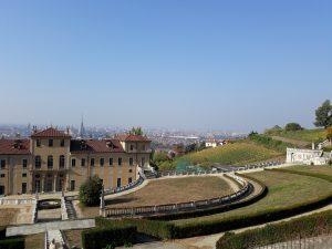 Villa della Regina panorama