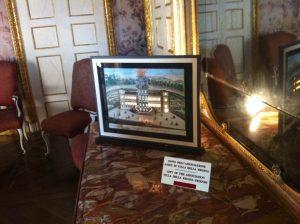 donazione targa amici di Villa della Regina