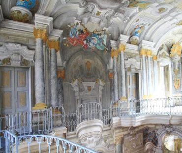 interno Villa della Regina