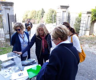 volontariato apertura cancello villa della regina